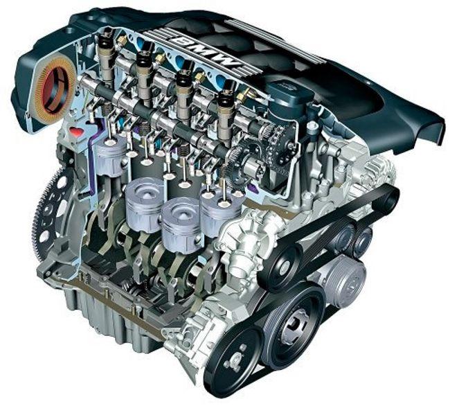Схема двигателя бмв х3